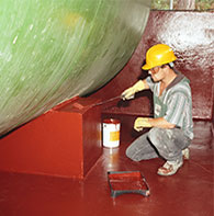 Resin Coating System Bund Lining
