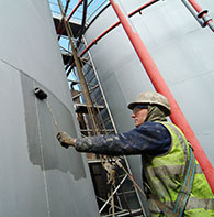 External Steel Tank Coating
