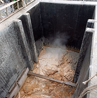 Waste Water Containment tank
